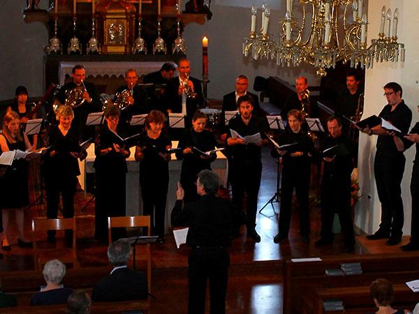 """Johannes Brahms: """"Zigeunerlieder"""" Chor: Salzburg Vokal Klavier: Johann Zhao Leitung: Hans-Josef Knaust"""