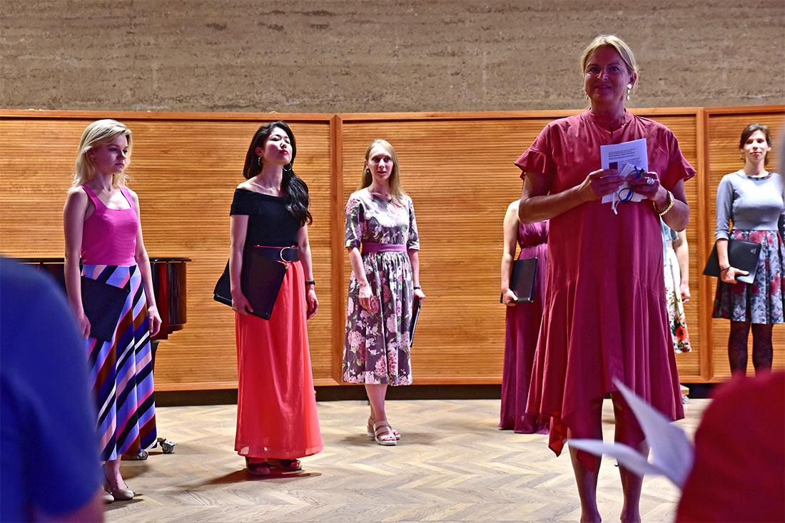 """romantische Liebeslyrik der """"Zigeunerlieder - Chor IMP- Salzburg"""