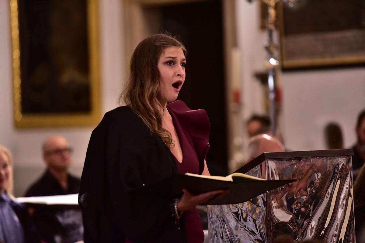 """Leonie Stoiber, Sopran Joseph Haydn """"Die Jahreszeiten"""""""